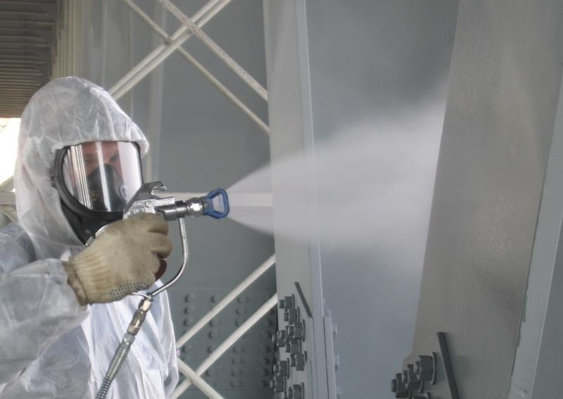 Огнезащита металлических конструкций посредством специальных красок,  вспучивающихся покрытий, конструктивных систем безопасности в  Екатеринбурге, Челябинске, Перми - Triumf